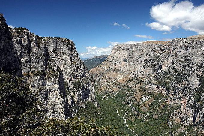 Wikimedia.org nuotr./Graikijos Vikos-Aoos nacionalinis parkas paskelbtas pasauliniu gamtos paminklu