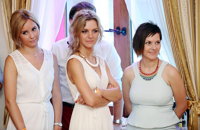 Liucina Rimgailė (centre)