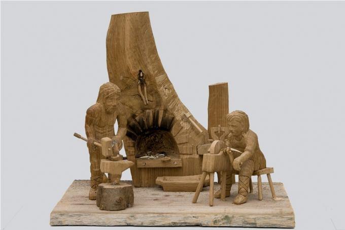 wood-craft.eu nuotr./Venecijaus Jočio kūriniai