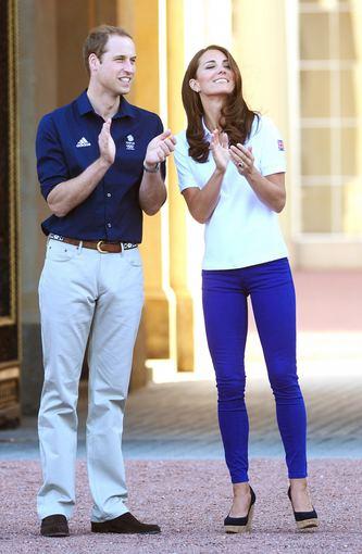 Princas Williamas ir Kembridžo hercogienė Catherine (2012-ųjų liepą)