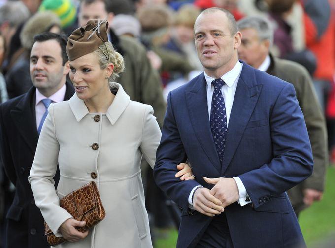 Zara Phillips su vyru Mike'u Tindallu