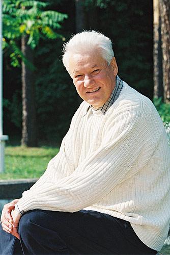 Pirmasis Rusijos prezidentas Borisas Jelcinas