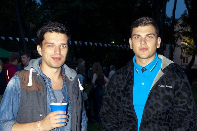 Tamsta Muzika´13 festivalio akimirka