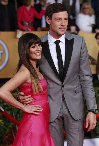 Lea Michele su Cory Monteithu
