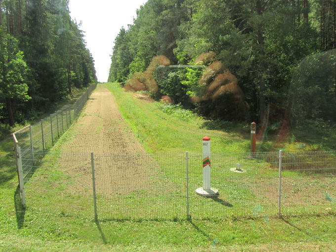 Justino Lingio nuotr./Čia pat  valstybinė siena su Baltarusija