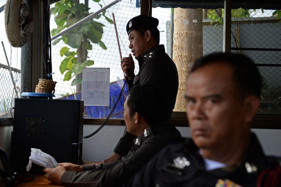 Tailando policija