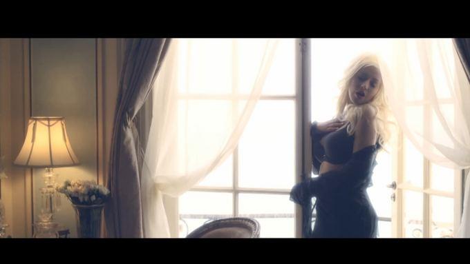 Kadras ia YouTube/Christina Aguilera Hoy Tengo Ganas De Ti vaizdo klipe