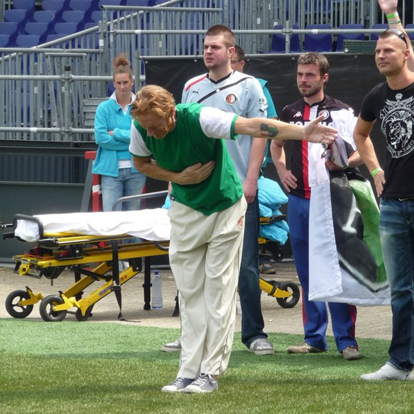 "Po pagerbimo ""Feyenoord"" ekipos sirgalius R.Marckas mirė"