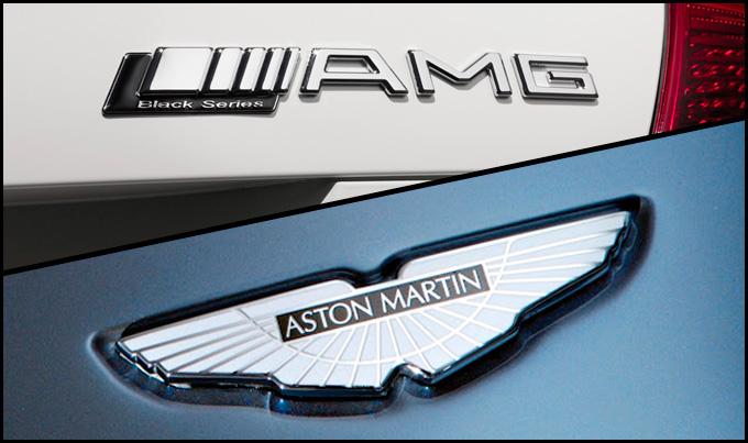 """AMG ir """"Aston Martin"""""""