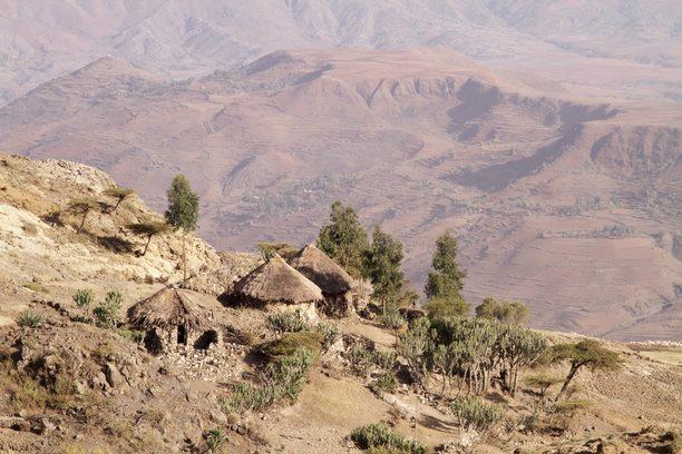 Evelinos ir Karolio nuotr./Nuostabūs Etiopijos kalnai.