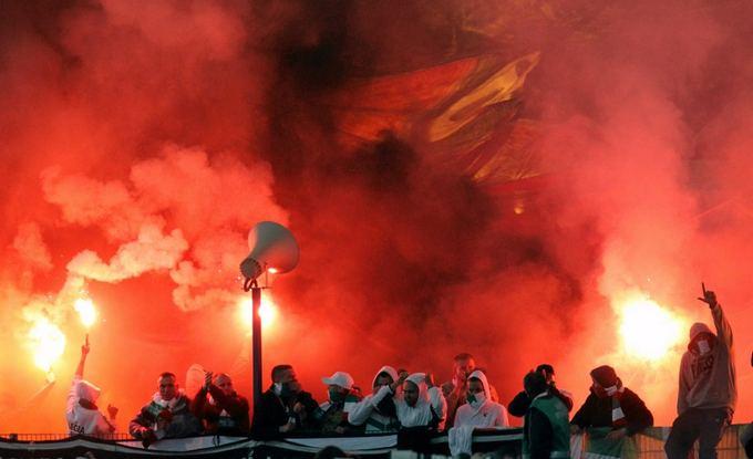 Фанаты польского клуба Lech
