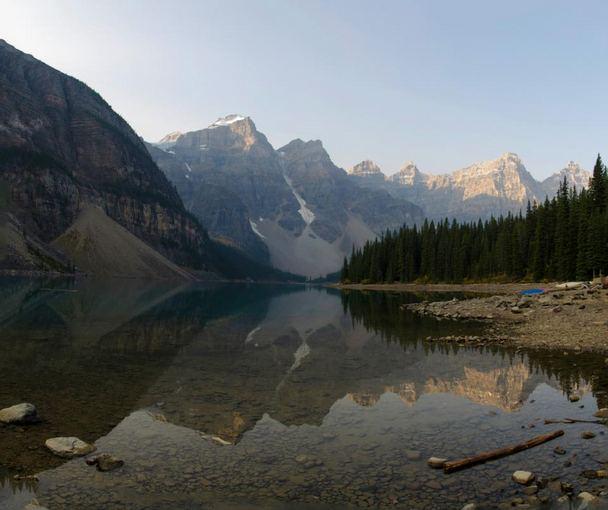 L.Pamparaitės nuotr./Kalnų atspindys gėlame vandenyje