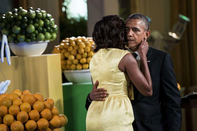 Michelle Obama ir Barackas Obama