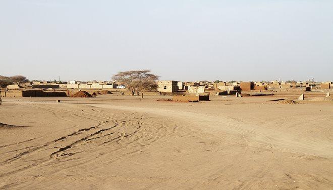 Evelinos ir Karolio nuotr./Tipinis Sudano miestelio vaizdas