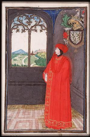 Burgundas riteris Ghillebert'as de Lannoy matėsi su Vytautu ir buvo jo apdovanotas