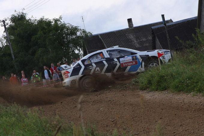 Autoplius 300 lakes rally: penktas greičio ruožas
