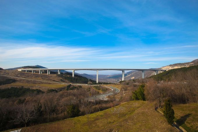 123rf.com nuotr./Tiltas Slovėnijoje