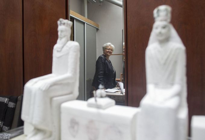 Skulptorė Dalia Matulaitė