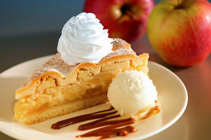 Shutterstock nuotr./Obuolių pyragas