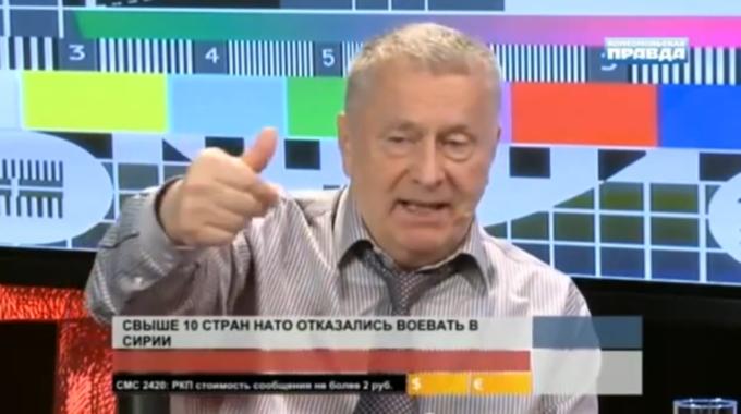 Vladimiras Žirinovskis užsipuolė Baltijos šalis