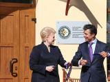 Džojos Gundos Barysaitės/president.lt nuotr./Dalia Grybauskaitė ir Andersas Foghas Rasmussenas