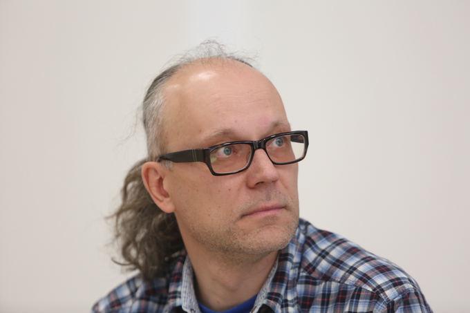 Juliaus Kalinsko/15min.lt nuotr./Vilniaus knygų festivalio organizatorius, leidyklos Kitos knygos vadovas Gediminas Baranauskas