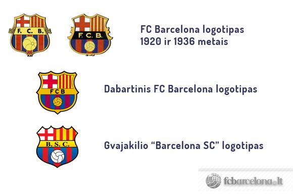 fcbarcelona.lt nuotr./Barcelona logotipai