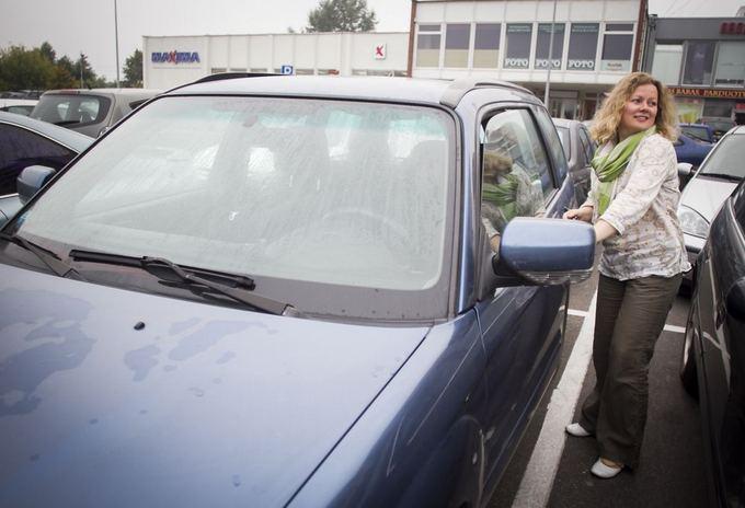 Eglė Digrytė važiavo automobiliu