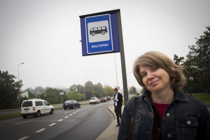 Violeta Grigaliūnaitė liko paskutinė, autobusai ir troleibusai nenukonkuravo net bėgimo.