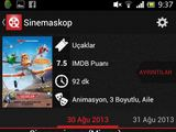 "KTU nuotr./Mobilioji aplikacija ""Sinemaskop"""