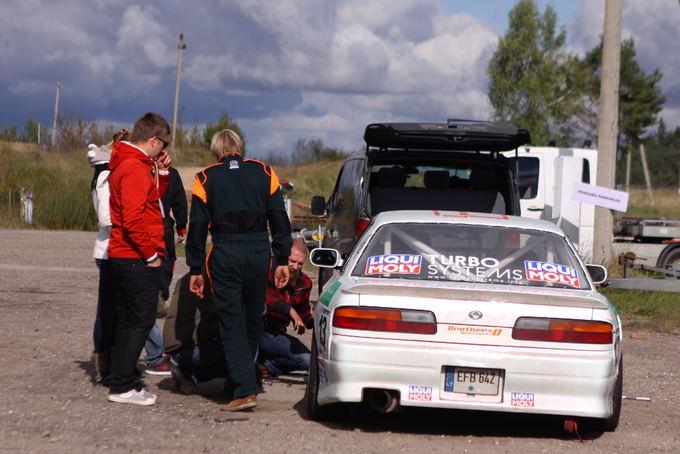Autoplius Lietuvos drifto čempionato dalyvių parkas