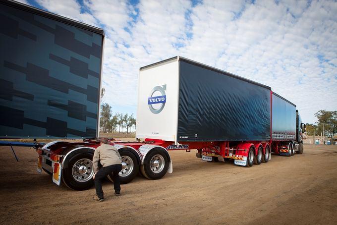 (Volvo nuotr.)/Volvo FH16 bandomasis važiavimas Australijoje