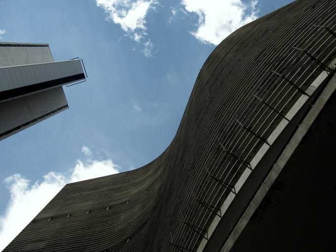 A.Baranauskaitės nuotr./Copan pastatas  San Paulo miesto ikona