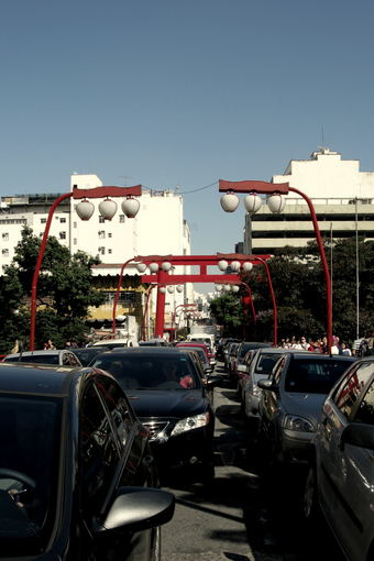 A.Baranauskaitės nuotr./San Paulo japonų rajonas Liberdade