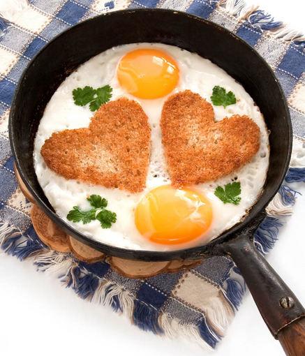 Shutterstock nuotr./Kepti kiaušiniai