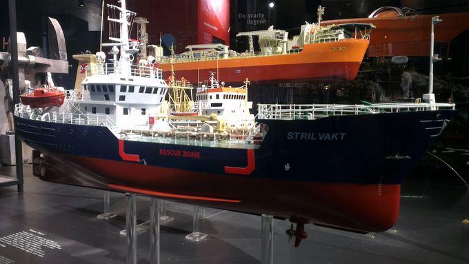 Pauliaus Cuberos nuotr./Tanklaivio modelis