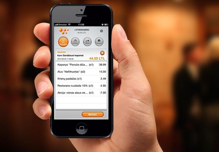 """""""WoraPay"""" mobiliųjų mokėjimų programėlė"""