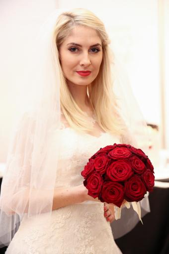 Kristina Ivanova vestuvių parodoje