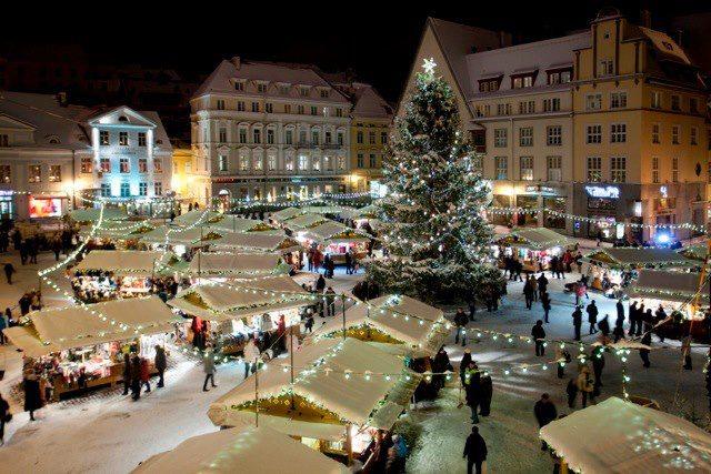 Kalėdų turgus Taline