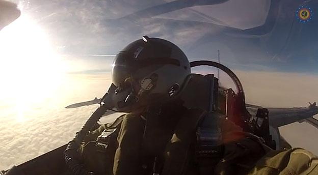 Belgijos naikintuvo F-16 pilotas