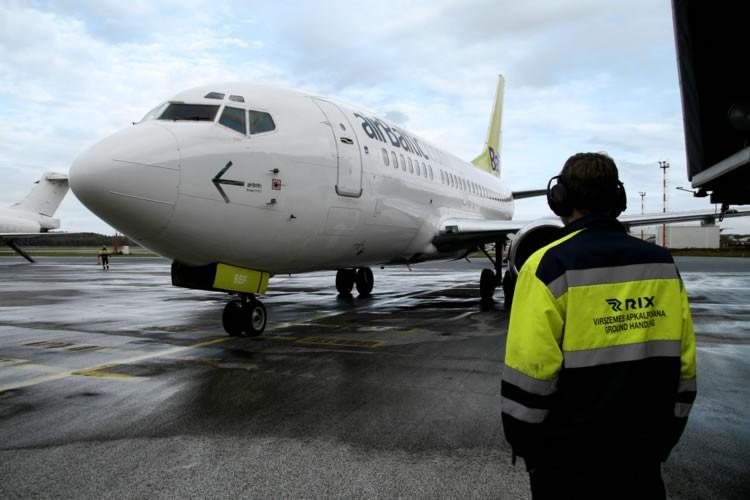 """Airbaltic"" lėktuvas"