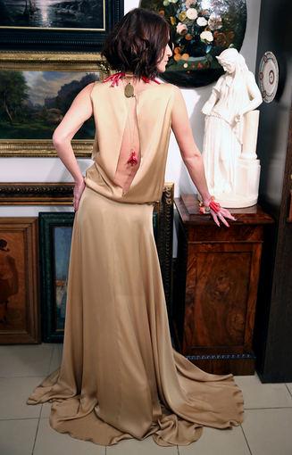 Šventinė ilga suknelė