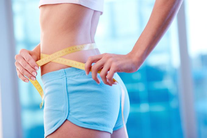 kaip mesti svorį esant 40