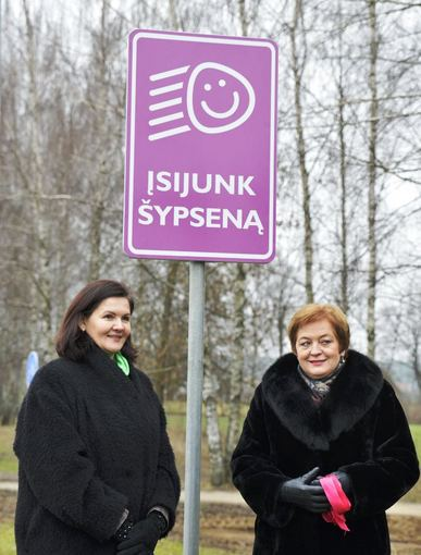 """""""Lietuvos draudimas"""" nuotr./Birštonas – pirmasis Lietuvos miestas be pykčio keliuose"""