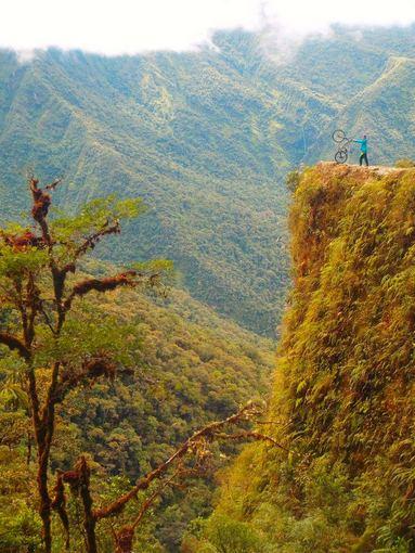 A.Kondrotaitės nuotr./Mirties kelias Bolivijoje