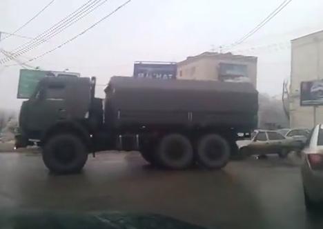 Kariniai daliniai Volgograde