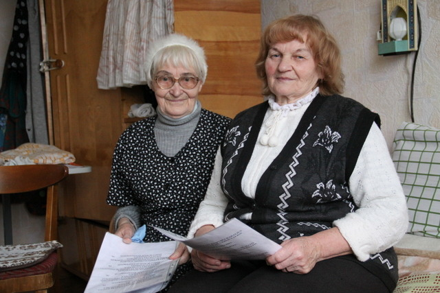 Zofija (dešinėje)