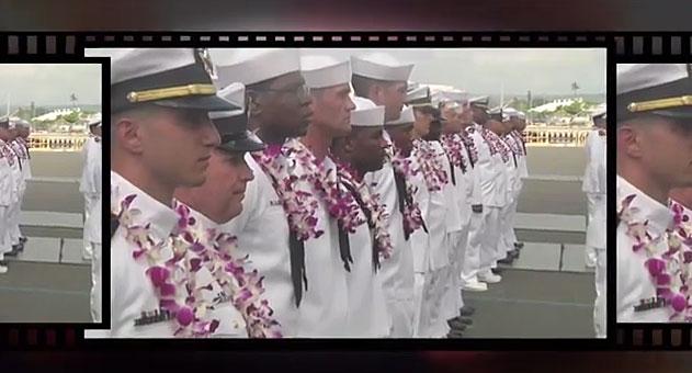 JAV laivyno jūreiviai