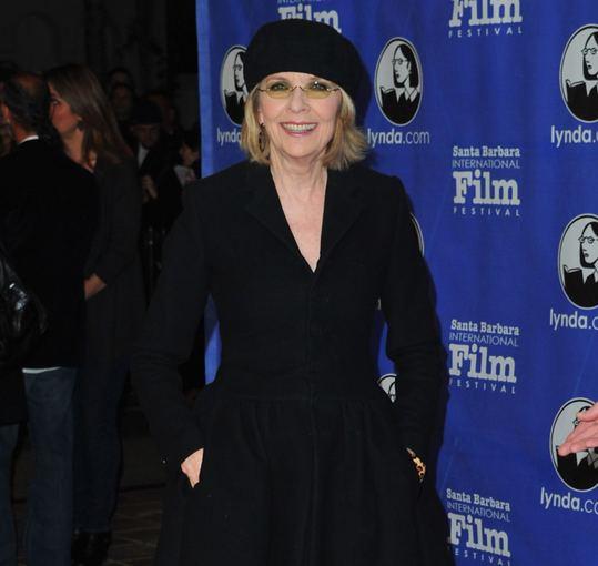 """AFP/""""Scanpix"""" nuotr./Diane Keaton švenčia 68-ąjį gimtadienį"""