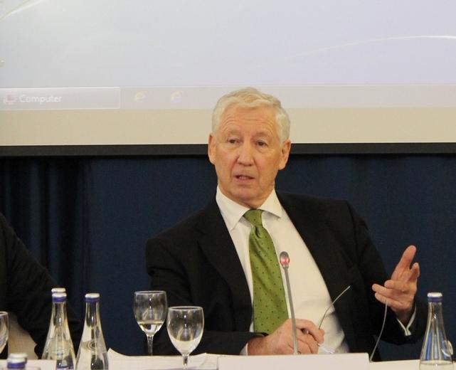 Kinglsey Aikinsas, diasporos ekspertas iš Airijos